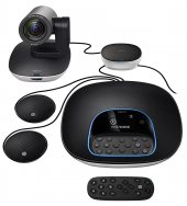 Logitech Group Video Conferencing Bundle With Expansion Mics, Hd