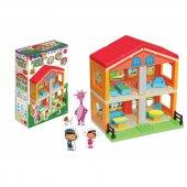 Fen Toys Lisanslı 43 Parça 2 Katlı Pepe Blok Seti 3144