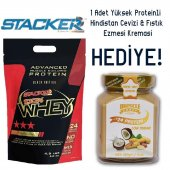 Stacker2 100 Whey Protein Çikolata 2000 Gr 1 Hediye