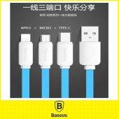 Samsung Galaxy S3 Baseus 3in1 Usb Kablo Type C