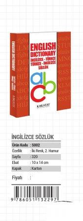 Ingilizce Türkçe Türkçe İngilizce Sözlük 2297