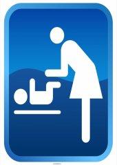 At 1228 Anne Bebek Tuvalet Levhası