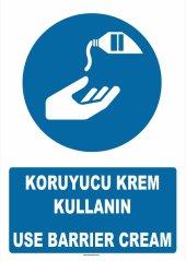 At 1376 Koruyucu Krem Kullanın, Use Barrier Cream