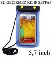 Samsung Galaxy S7 S7 Edge(Plus) Su Geçirmez Kılıf 5,7 İnch Şeffaf 3 Lü Kilit