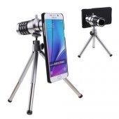 Samsung Note 5 Birebir Kılıflı 12x Zoom Teleskop Telefon Kamera Lensi