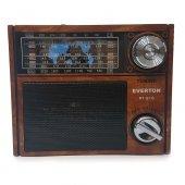 Everton Portatif Şarjlı Radyo Müzik Mp3 Çalar Usb Tf Rt 915