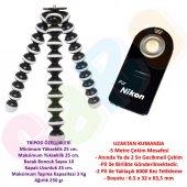 Nikon D5600 Gorillapod Big Tripod + Ml L3 Uzaktan Kumanda