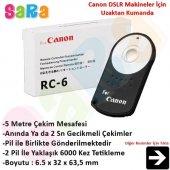 Canon 100d İçin Rc 6 Rc6 Kablosuz Uzaktan Kumanda