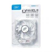 Deep Cool Xfan 80l R Kırmızı Led 80mm Kasa Fanı