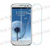 Samsung Galaxy S3 Kırılmaz Ekran Koruyucu Temperli Cam Gt I9300