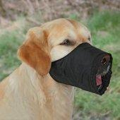 Trixie Köpek Ağızlık , L Kısa 30cm Siyah