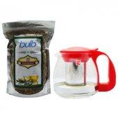 Cafe Bulb Çiçek Ihlamur 125 Gr + Paçi Teapot Cam D...