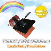 Tshirt Düz Transfer Baskı Pres Makinası (38x38cm)