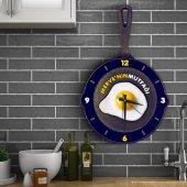 Kişiye Özel Ahşap Mutfak Duvar Saati 4