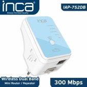 ınca Iap 752db Wireless 300 Mbps 5 Ghz Dualband Mini Router Repeater