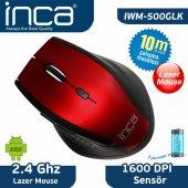 ınca Iwm 500glk Wıreless Laser Mouse Kırmızı
