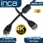ımhd 30t Inca 3 Metre 1,4 V 3d Hdmı Hdmı Kablo ...