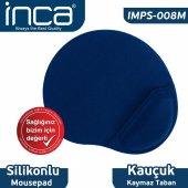 ınca Imsp 008m Bileklik Yastıklı Mousepad(Mavi)