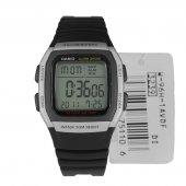 Casio W 96 Plastik Işıklı Alarmlı Dijital Spor Erkek Kol Saati