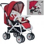 Beneto Bt 888 Whete Çift Yönlü Bebek Arabası Özel Kumaş