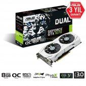 Asus Dual Geforce Gtx 1070 Oc Edition 8gb Gddr5 256bıt Dvı 2hdmı