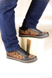 Günlük Bej Kamuflaj Erkek Ayakkabı