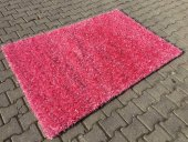 Shaggy Hali Pembe 150x150 Cm (Yuvarlak)