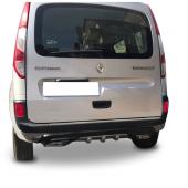 Renault Kangoo Egzoz Görünümlü Universal Difüzör (Plastik)