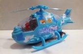 30 Cm Pilli Sesli Işıklı Çarp Dön Helikopter 4294