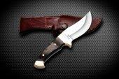 Bora M 409 Barbary Lion Wenge Saplı Bıçak