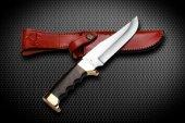 Bora M 404 Fighter Wenge Saplı Bıçak
