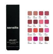 Sensilis Velvet Satin Comfort Lipstick Yoğun Nemlendirici Ruj 217