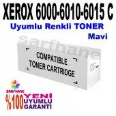 Xerox 6000, 6010, 6015 C Mavi Muadil Toner