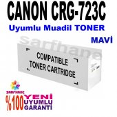 Canon Crg 723c Uyumlu Mavi Toner Lbp7750cdn