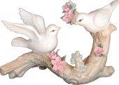 Aydınev Sirius Muhabbet Kuşları 9071 Dekoratif Biblo Heykel Hedi