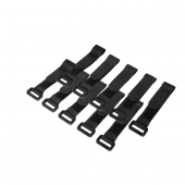 Logilink Kab0056 10 Lu Cırt Cırt Kablo Bağı, Siyah, 15cm