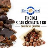 Koza Fındık Aromalı Kakaolu Sıcak Çikolata 1000 Gr