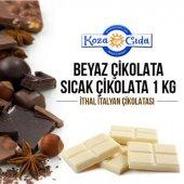 Koza Beyaz Çikolata Aromalı Kakaolu Sıcak Çikolata 1 Kg