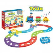 Mutlu Tren Müzikli Maket & Oyun Seti Dev Boy
