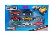 Diecast Metal Arabalar Off Road Serisi (8 Li)