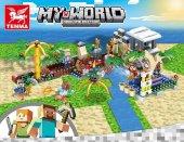 Tenma Tm7206 Minecraft My World Lego Seti (4 Farklı Seçenek)