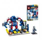Sy361b Yenilmezler Ultron Lego Seti Captain America Dev Boy