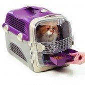 Catit Cabrio Kedi Köpek Taşıma Kabı Bordo Gri
