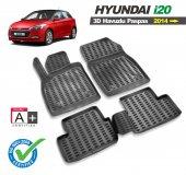 Hyundai İ20 3d Havuzlu Oto Paspas 2014 Ve Üzeri Modeller