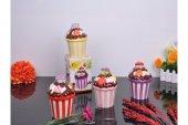 Paçi Cup Cake Küçük Kurabiyelik Pembe