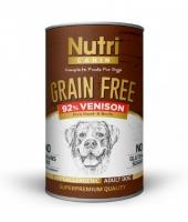 Nutri Canine Tahılsız Geyik Etli Patatesli Köpek Konservesi 400 G