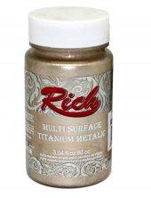 Rich Multi Surface Titanium 2526 Şampanya Metalik 90 Cc