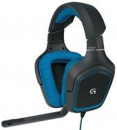 Logitech G430 Surround Sound Oyuncu Kulaklığı