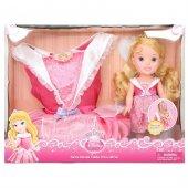 Disney Prenses Uyuyan Güzel Kostümlü Ve Bebek Set 2 4 Yaş