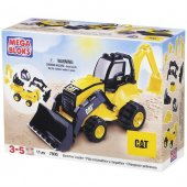 Mega Bloks Cat Kazı İş Makinesi Oyun Seti